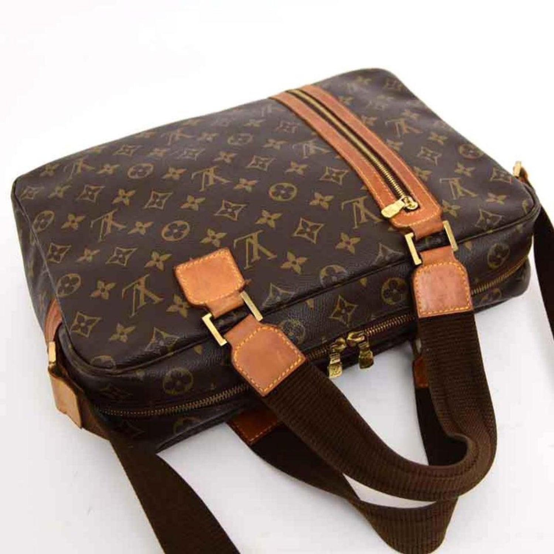 b006bd01b3d6 Louis Vuitton Bosphore Monogram 2way 226566 Brown Coated Canvas Shoulder Bag  For Sale at 1stdibs