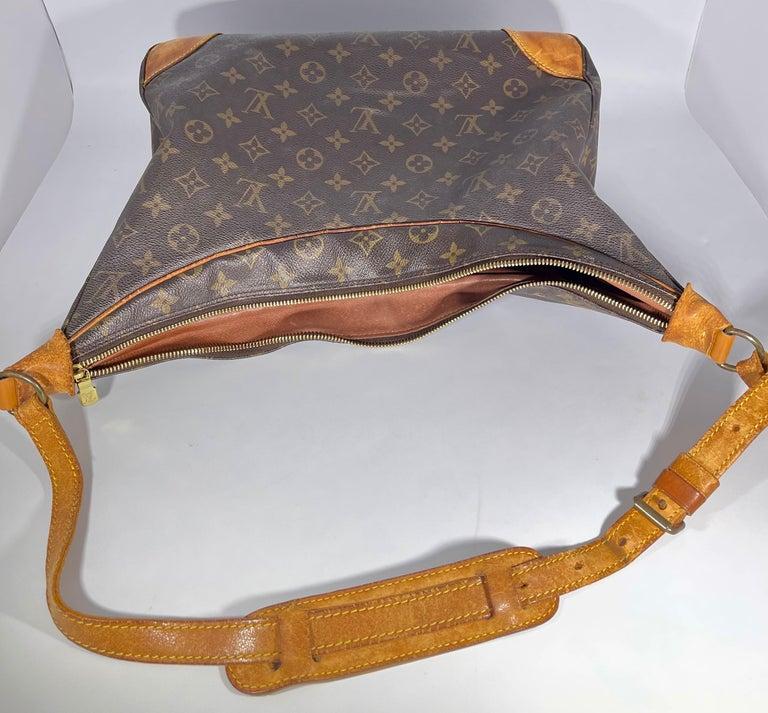 LOUIS VUITTON Boulogne 35 Brown Monogram Shoulder Bag 1218186 For Sale 5