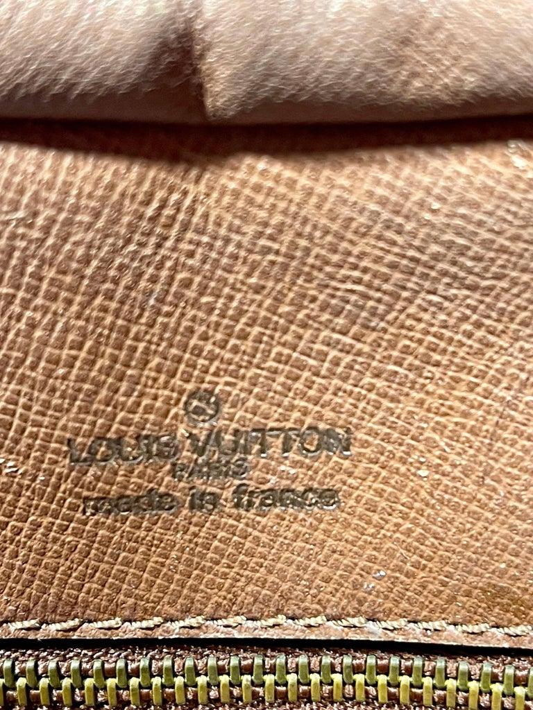 LOUIS VUITTON Boulogne 35 Brown Monogram Shoulder Bag 1218186 For Sale 6