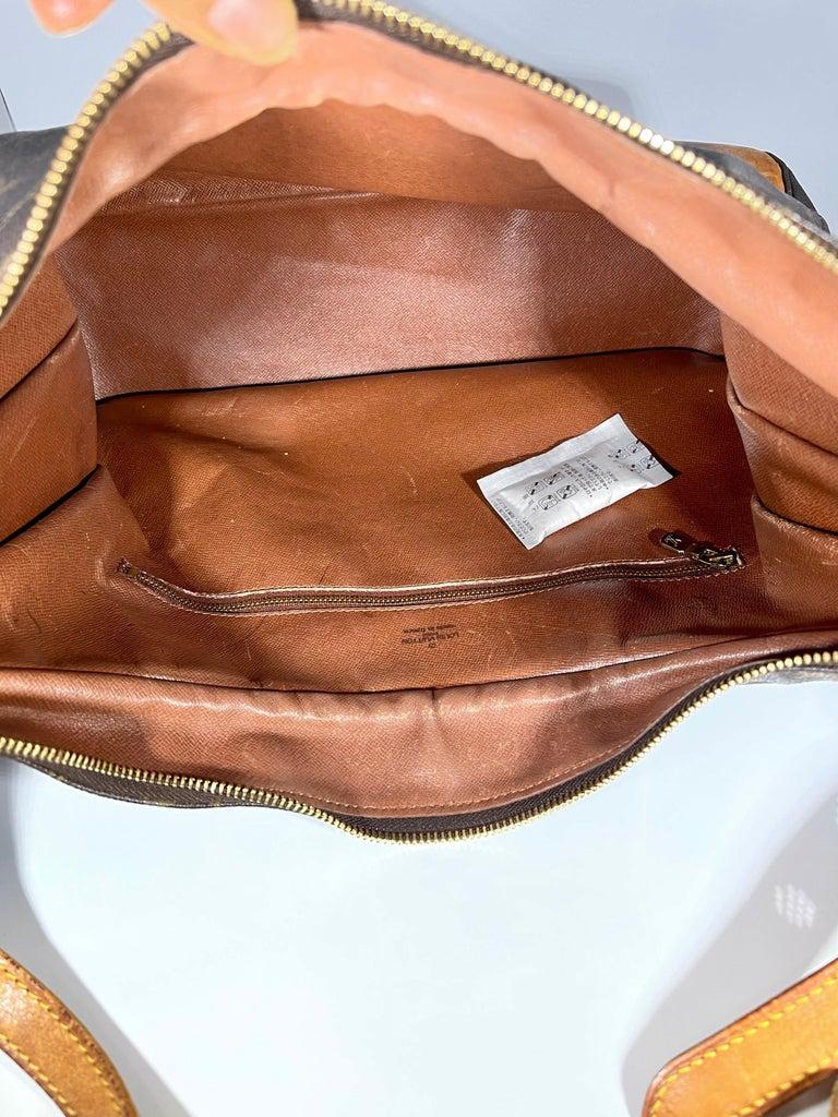 LOUIS VUITTON Boulogne 35 Brown Monogram Shoulder Bag 1218186 For Sale 7