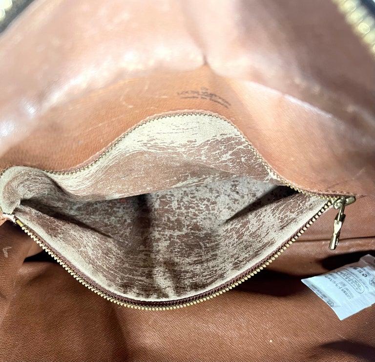 LOUIS VUITTON Boulogne 35 Brown Monogram Shoulder Bag 1218186 For Sale 8