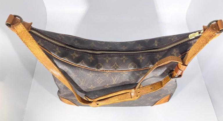 LOUIS VUITTON Boulogne 35 Brown Monogram Shoulder Bag 1218186 For Sale 2