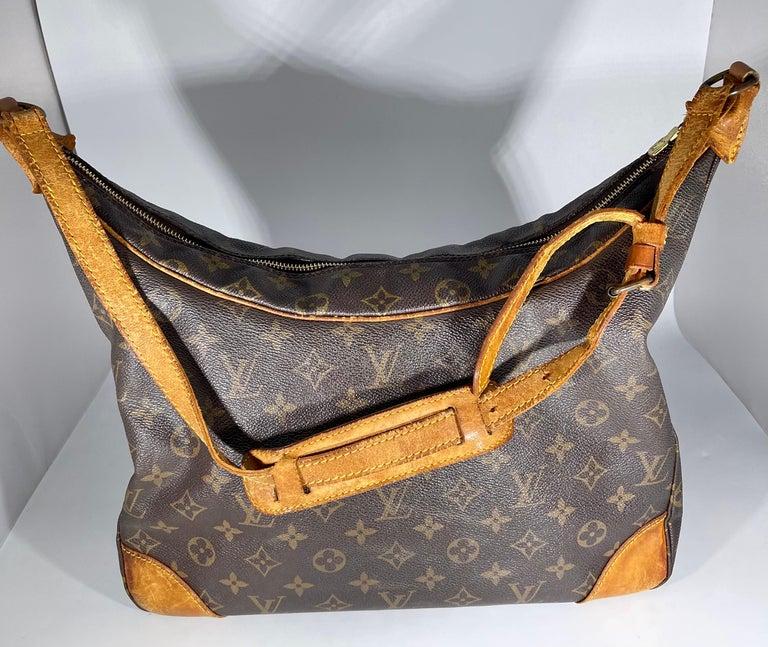 LOUIS VUITTON Boulogne 35 Brown Monogram Shoulder Bag 1218186 For Sale 3