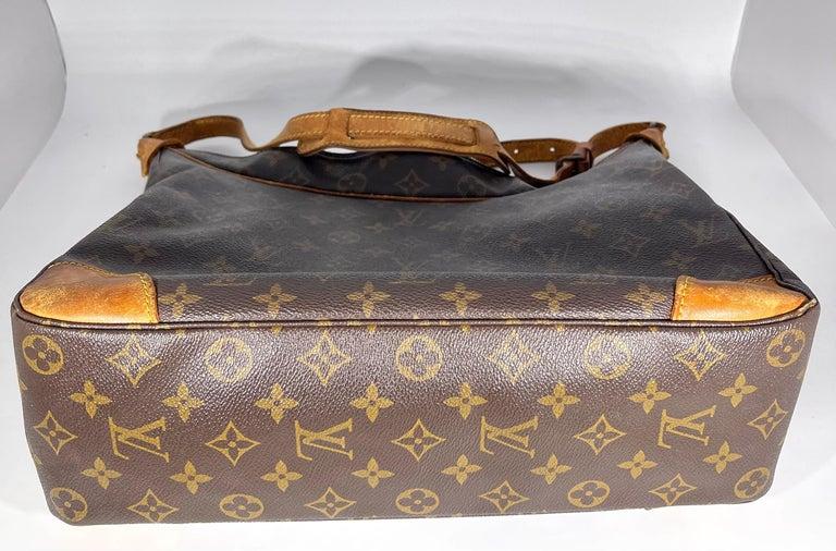 LOUIS VUITTON Boulogne 35 Brown Monogram Shoulder Bag 1218186 For Sale 4