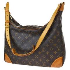 LOUIS VUITTON Boulogne 35 Brown Monogram Shoulder Bag 1218186