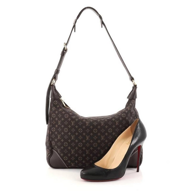 louis vuitton mini lin boulogne handbag at 1stdibs