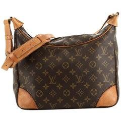 Louis Vuitton Boulogne Handbag Monogram Canvas 30