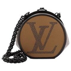 Louis Vuitton Boursicot Boite Chapeau Bag Limited Edition Reverse Monogram Giant