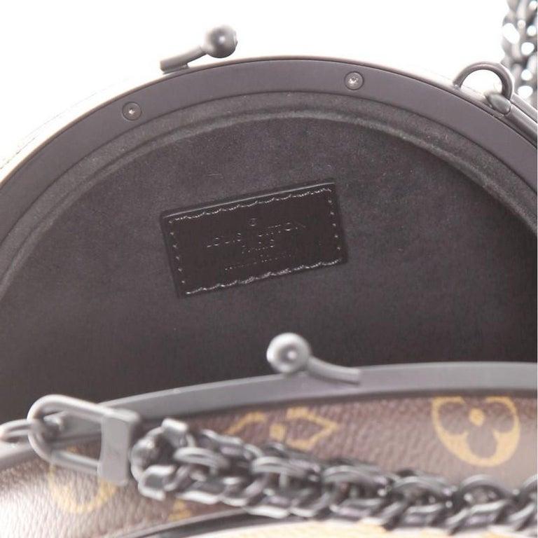 Louis Vuitton Boursicot Boite Chapeau Bag Reverse Monogram Giant For Sale 2
