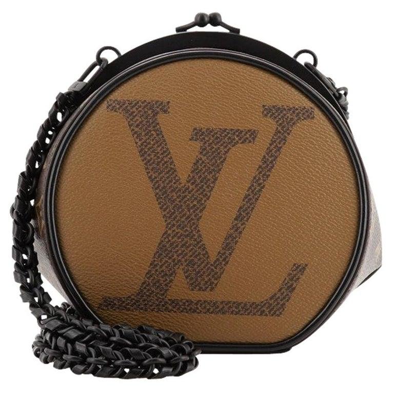 Louis Vuitton Boursicot Boite Chapeau Bag Reverse Monogram Giant For Sale