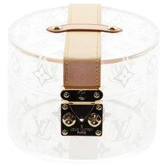 Louis Vuitton Box Scott Monogram Plexiglass