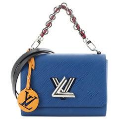 Louis Vuitton Braided Handle Twist Bag Epi Leather MM