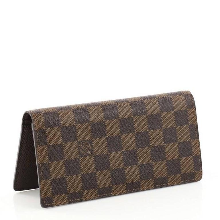 497ad5f04adea Black Louis Vuitton Brazza Wallet Damier For Sale