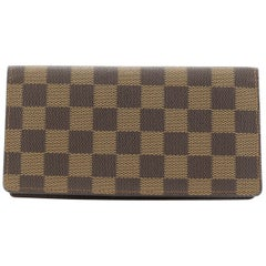 Louis Vuitton Brazza Wallet Damier