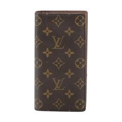 Louis Vuitton Brazza Wallet Monogram Canvas