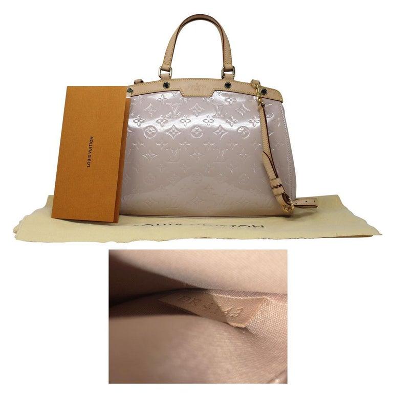 Louis Vuitton Brea MM Rose Angelique Handbag Shoulder Bag in Dust Bag w/ Receipt For Sale 5