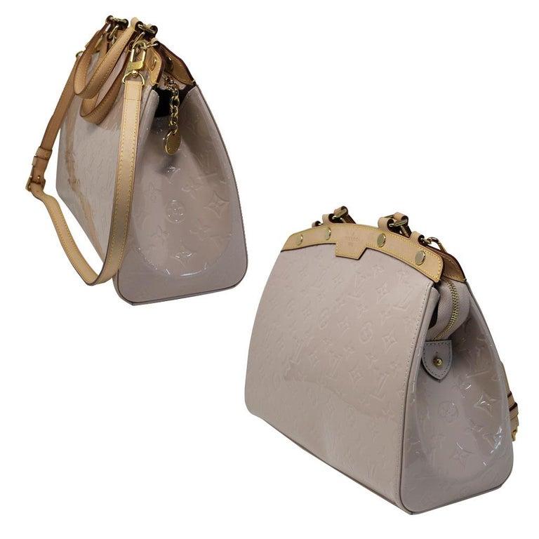 Brown Louis Vuitton Brea MM Rose Angelique Handbag Shoulder Bag in Dust Bag w/ Receipt For Sale