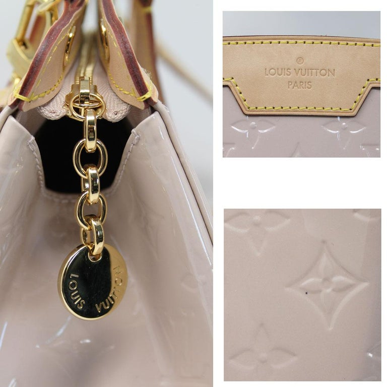 Women's or Men's Louis Vuitton Brea MM Rose Angelique Handbag Shoulder Bag in Dust Bag w/ Receipt For Sale