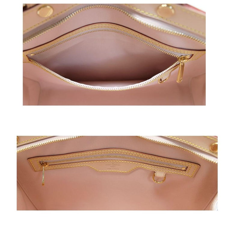 Louis Vuitton Brea MM Rose Angelique Handbag Shoulder Bag in Dust Bag w/ Receipt For Sale 3