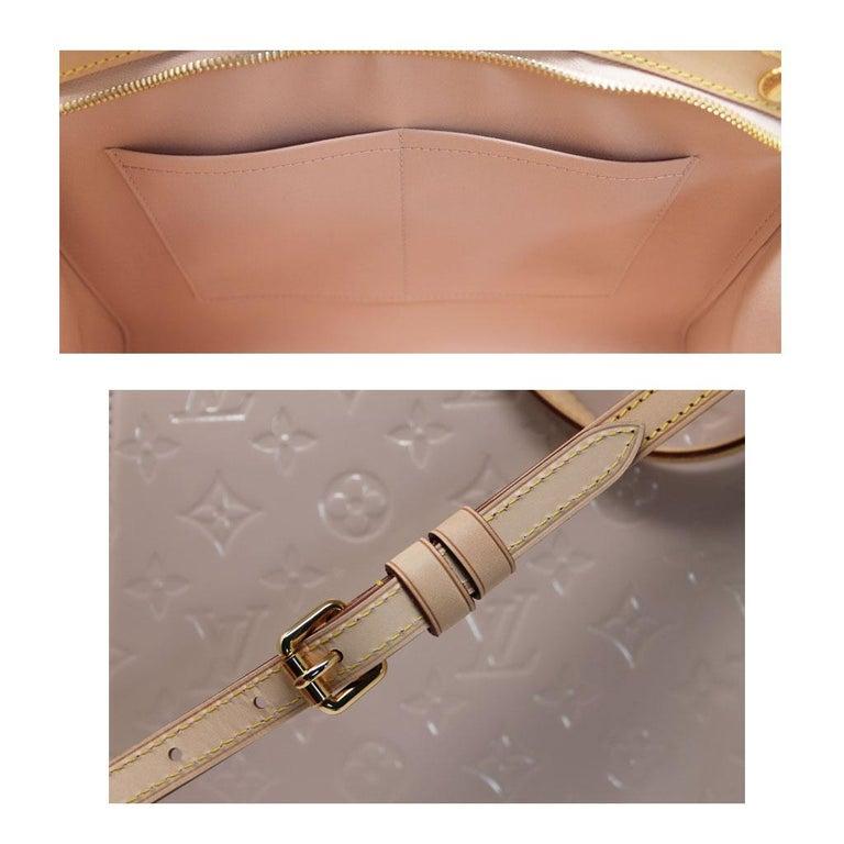 Louis Vuitton Brea MM Rose Angelique Handbag Shoulder Bag in Dust Bag w/ Receipt For Sale 4