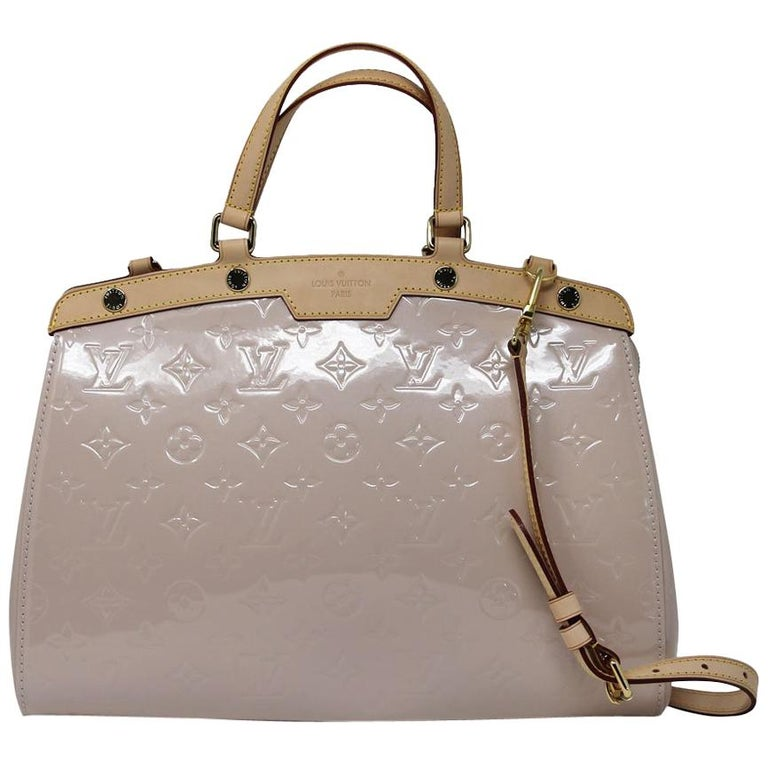 Louis Vuitton Brea MM Rose Angelique Handbag Shoulder Bag in Dust Bag w/ Receipt For Sale