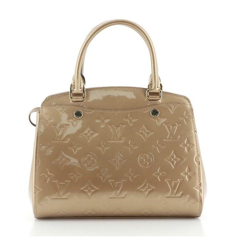 Louis Vuitton Brea NM Handbag Monogram Vernis PM In Good Condition For Sale In New York, NY