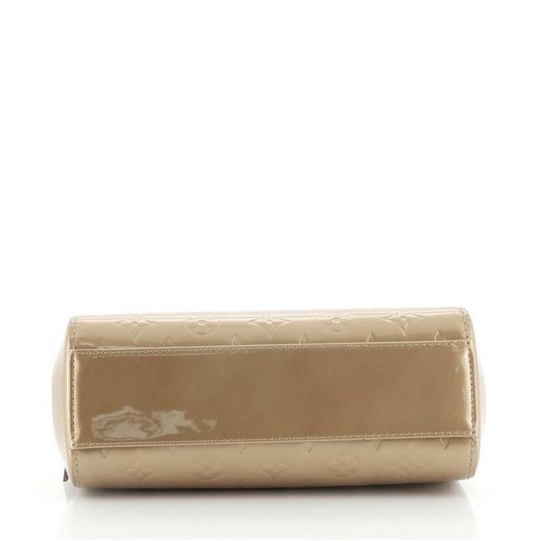 Women's or Men's Louis Vuitton Brea NM Handbag Monogram Vernis PM For Sale