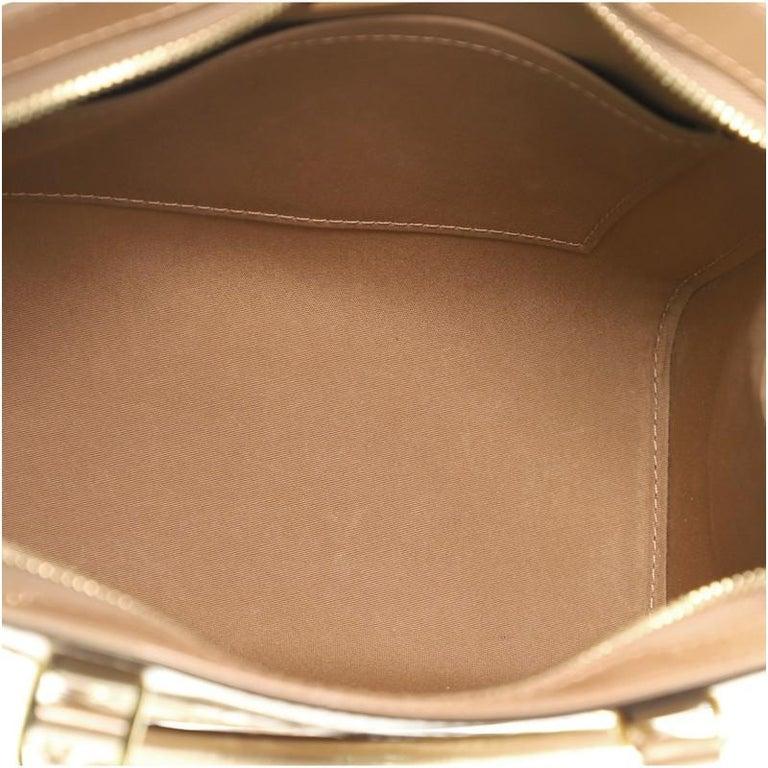 Louis Vuitton Brea NM Handbag Monogram Vernis PM For Sale 1