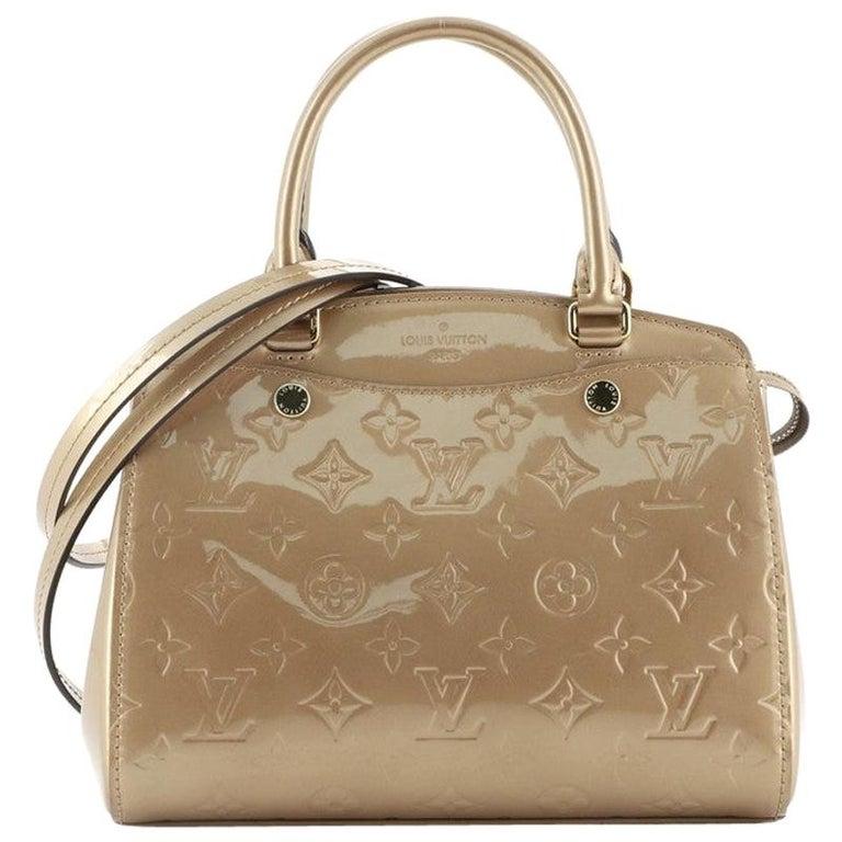Louis Vuitton Brea NM Handbag Monogram Vernis PM For Sale