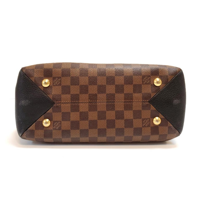 Louis Vuitton Brittany Brown Damier Ebene Hand Bag For Sale 1