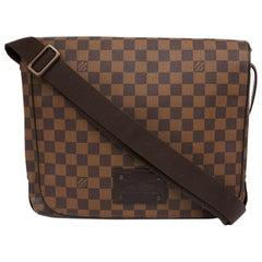 LOUIS VUITTON Brooklyn Bag In Checkered Canvas
