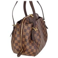 LOUIS VUITTON brown Damier canvas BELEM MM Shoulder Bag