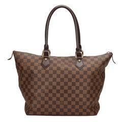 Louis Vuitton Brown Damier Ebene Cancas Saleya MM Bag