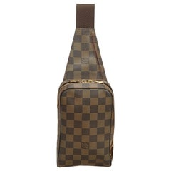 Louis Vuitton Brown Damier Ebene Geronimos