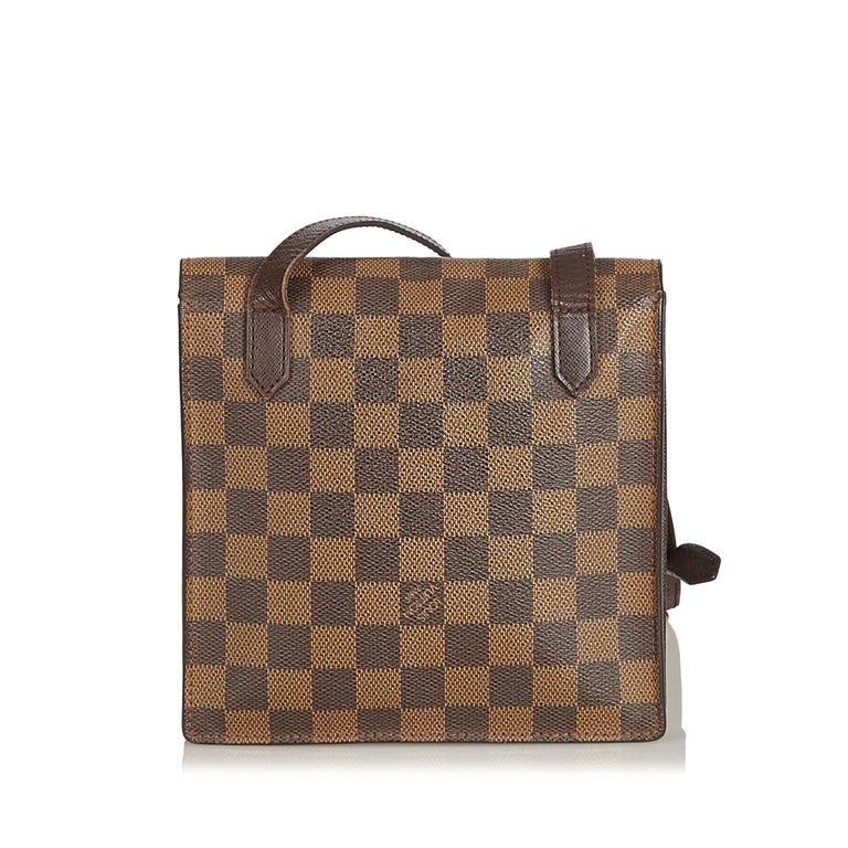 Louis Vuitton Brown Damier Ebene Pimlico In Good Condition For Sale In Orlando, FL