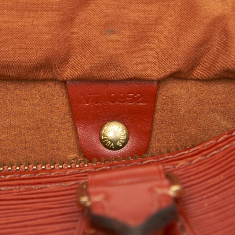 Louis Vuitton Brown Epi Leather Leather Epi Speedy 25 France For Sale 2