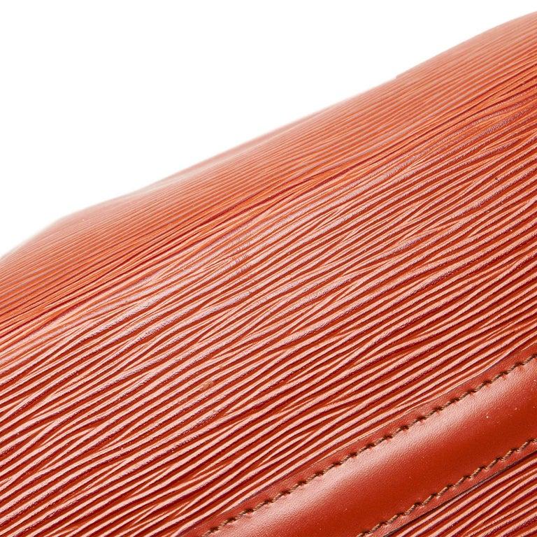 Louis Vuitton Brown Epi Leather Leather Epi Speedy 25 France For Sale 5