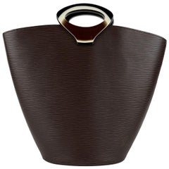 Louis Vuitton Brown Epi Leather Noctambule Tote Bag Handbag