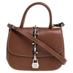 Louis Vuitton Brown Leather Chain It PM Bag