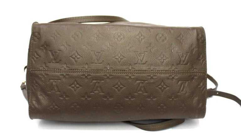 Louis Vuitton Brown Leather Ombre Lumineuse Empreinte Bag In Excellent Condition For Sale In Torre Del Greco, IT