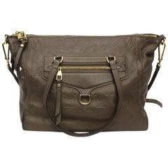 Louis Vuitton Brown Leather Ombre Lumineuse Empreinte Bag