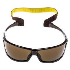 Louis Vuitton Brown LV Cup M80659 Shield Sport Sunglasses
