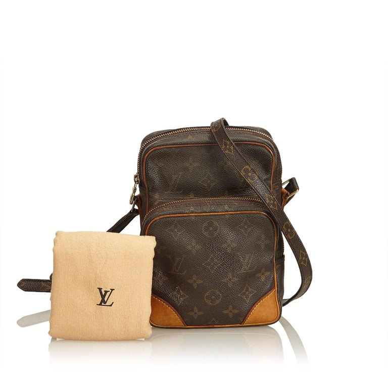 Louis Vuitton Brown Monogram Amazone For Sale 5