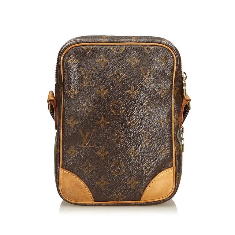 Black Louis Vuitton Brown Monogram Amazone For Sale