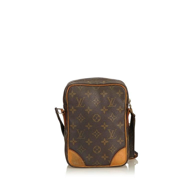 Black Louis Vuitton Brown Monogram Amazone For Sale