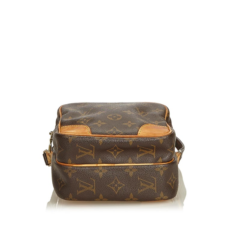 Louis Vuitton Brown Monogram Amazone In Good Condition For Sale In Orlando, FL