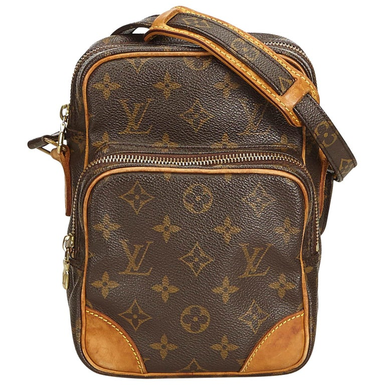 Louis Vuitton Brown Monogram Amazone For Sale