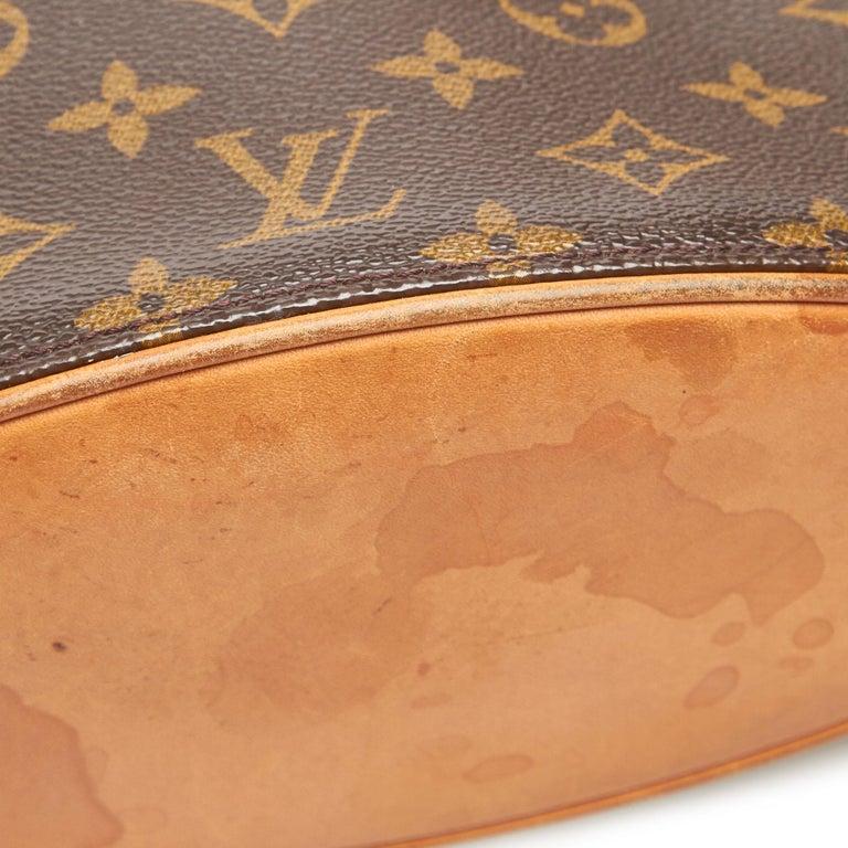 Louis Vuitton Brown Monogram Canvas Canvas Monogram Drouot France For Sale 5