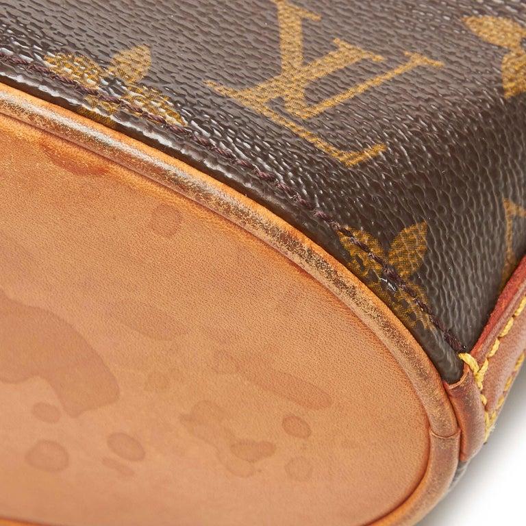 Louis Vuitton Brown Monogram Canvas Canvas Monogram Drouot France For Sale 4