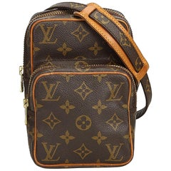Louis Vuitton Brown Monogram Canvas Canvas Monogram Mini Amazone France